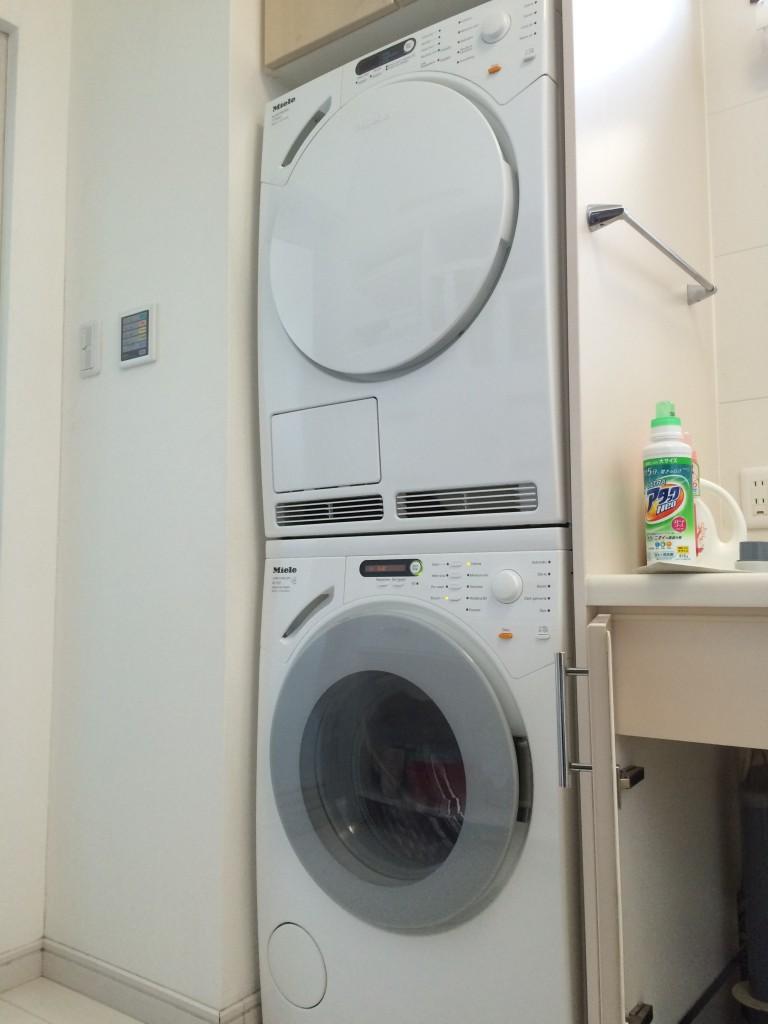 ミーレ洗濯機・乾燥機 施工例
